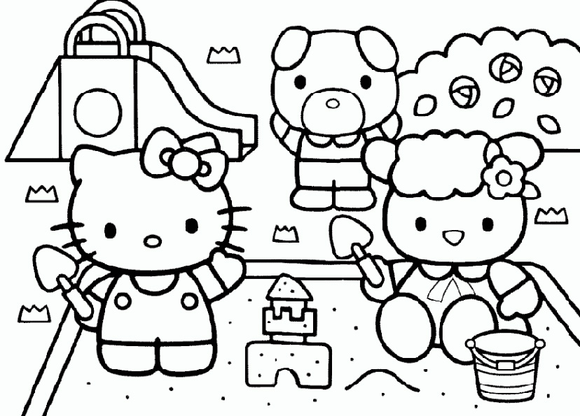 "... for ""Hello Kitty Printable Color Pages/page/2"" – Calendar 2015"