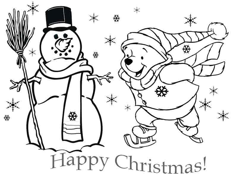 winnie poo in weihnachten