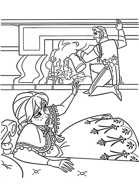 bilder zum ausmalen Eiskönigin 5
