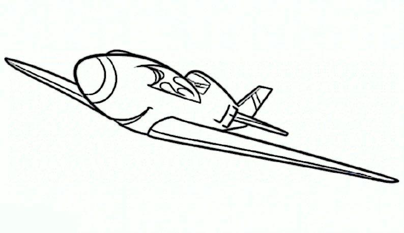 bilder 5 Planes Disney zum ausmalen