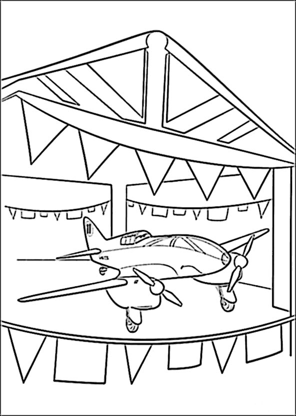 bilder 7 planes disney zum ausmalen