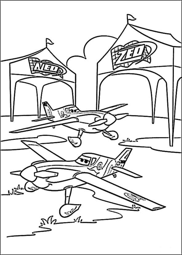 bilder 8 planes disney zum malen