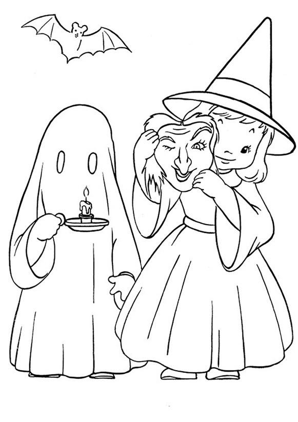 halloween 1 zum malen