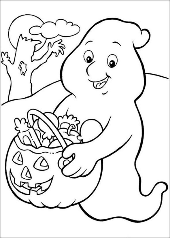 Bilder zum ausmalen Halloween 1 | Bilder zum Ausmalen