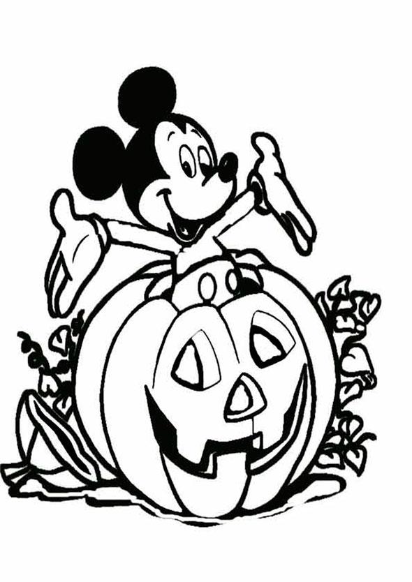 Charmant Disney Halloween Druckbare Malvorlagen Galerie - Entry ...