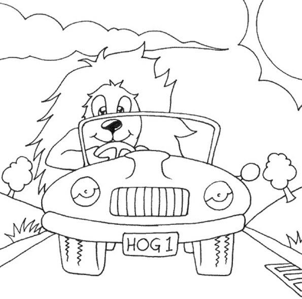bilder zum ausmalen autos 10