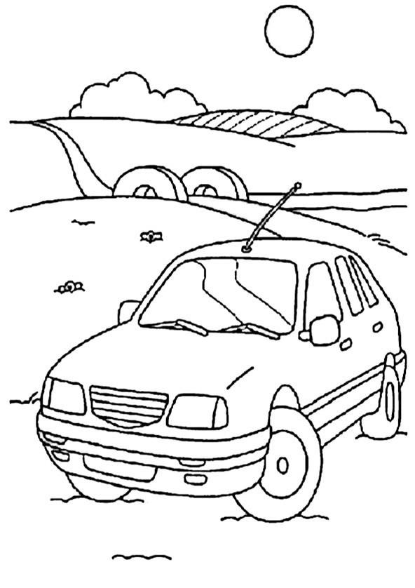 bilder zum ausmalen autos 12