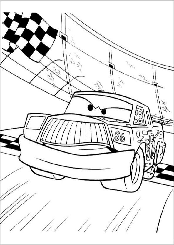 bilder zum ausmalen cars 14