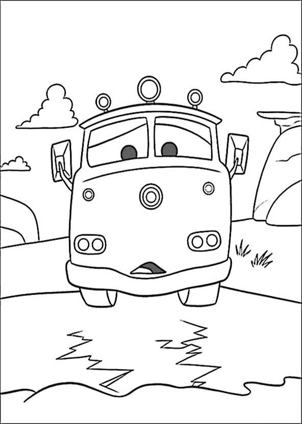 bilder zum ausmalen cars 9