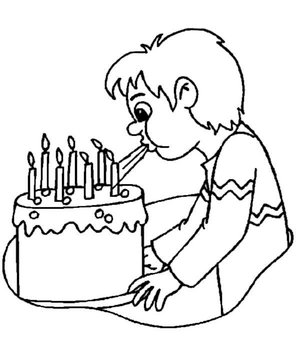 bilder zum ausmalen Geburtstag 1