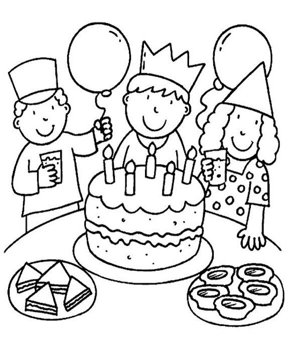 bilder zum ausmalen Geburtstag 12