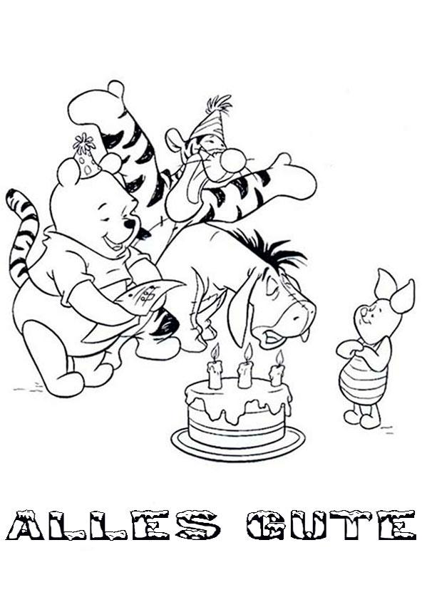 bilder zum ausmalen Geburtstag 13