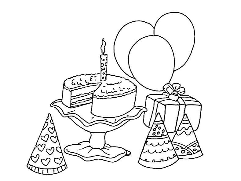 bilder zum ausmalen Geburtstag 6