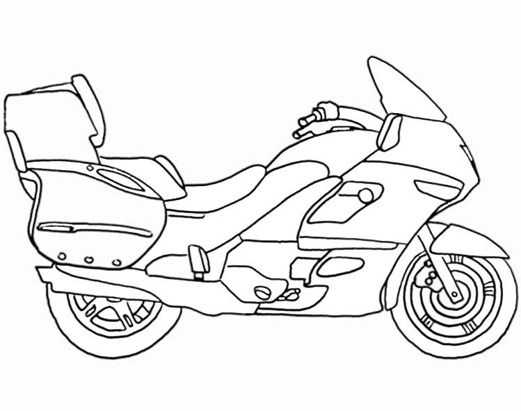 bilder zum ausmalen motorrad 8