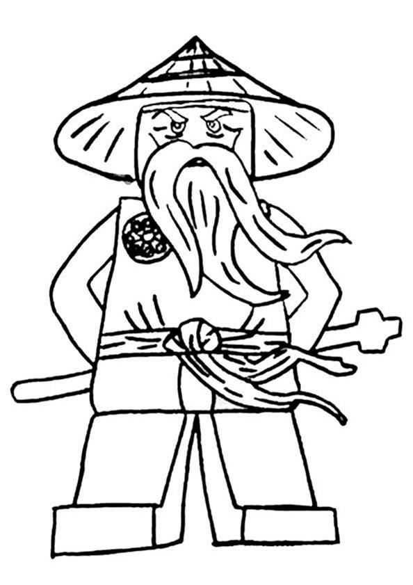 Bilder zum ausmalen Ninjago 5