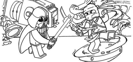 Bilder zum ausmalen Ninjago 6