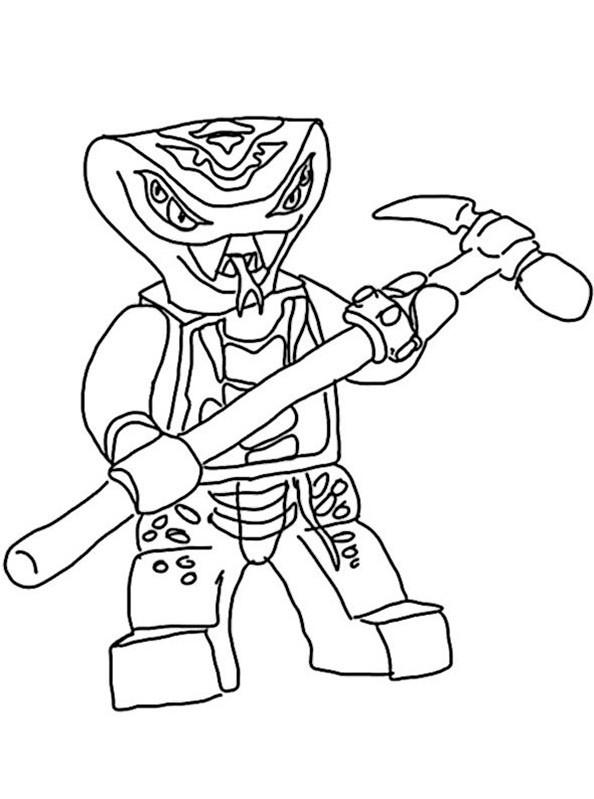 Bilder zum ausmalen Ninjago 9