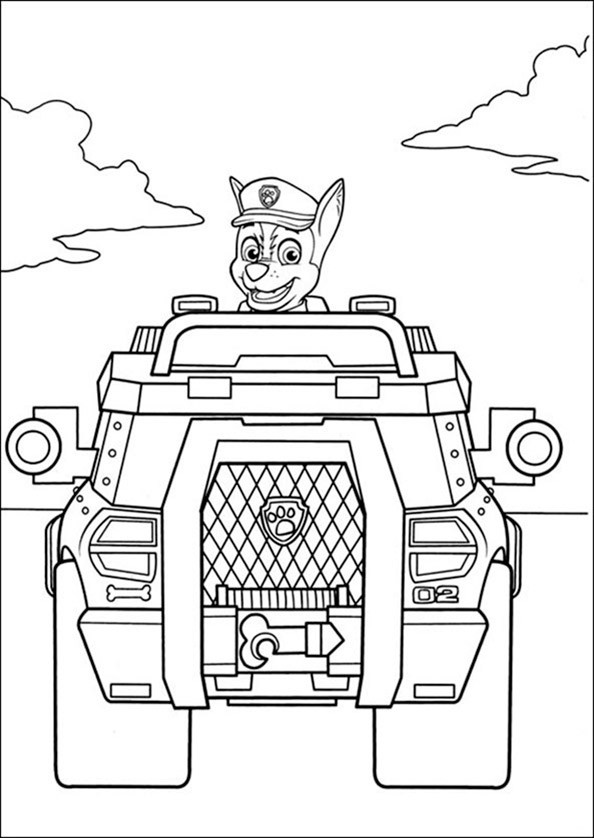 Ausmalbilder Paw Patrol 6